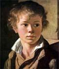 Это - портрет сына художника. Как фамилия художника?
