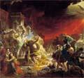 Какая из картин Карла Брюллова, первого из русских художников, завоевавших широкую известность за границей, была показана по всей Европе?